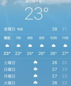 当たらぬ天気予報