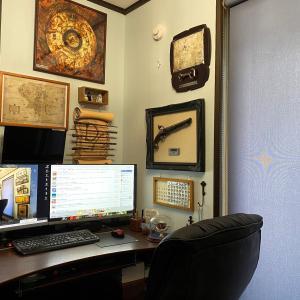 iPhone11 Pro Max で書斎を撮影