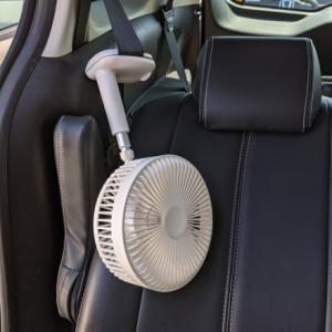 車内扇風機 はじめました~♪