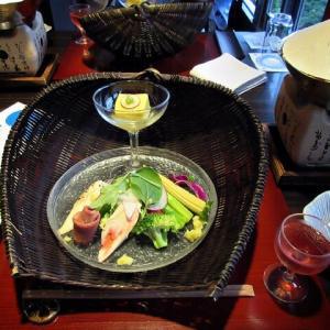 夕食は・・・@ホテル祖谷温泉