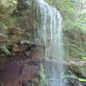 裏見の岩井滝再訪と恩原高原