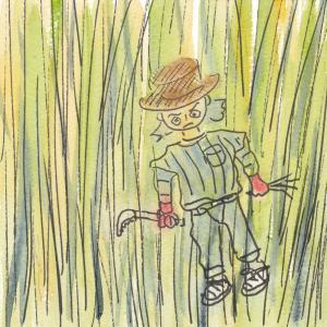 畑がジャングル化