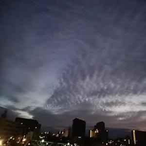 曇のグラデーション