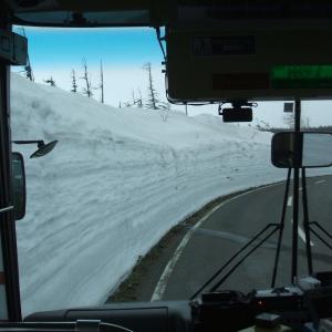 八幡平で山スキー