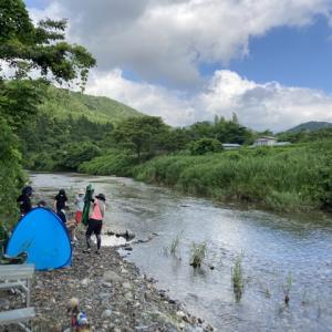 3年振りの川へ ①