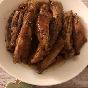 手羽中のバルサミコ酢煮