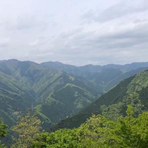 御嶽駅から高水三山へ