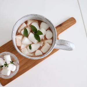 【無印良品】の小さなマシュマロでおうちカフェ。#うちで過ごそう