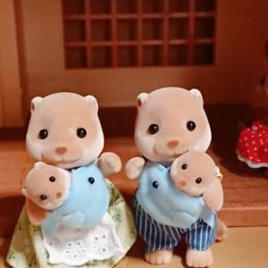 シルバニア、手持ちの人形たち