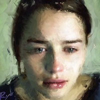 「Face」泣いた女性