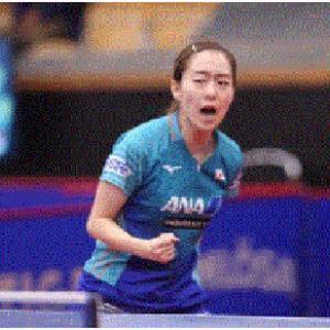 ◆【卓 球】・・五輪選考レースで壮絶な2番手争いを繰り広げる石川佳純(全農/世界ランク10位)と平野美宇(日本生命/同11)