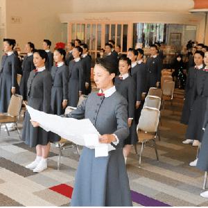 ◆宝塚音楽学校 約2カ月遅れで入学式「早く学びたい気持ちを募らせていた」