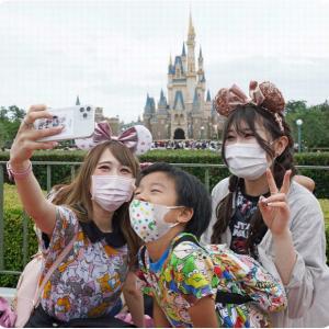 ◆東京ディズニー「来てよかった」 「3密」避け4カ月ぶり再開