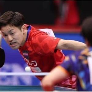◆卓球全日本卓球選手権・・・及川瑞基が初優勝   石川5 回目   !両者 序盤苦しむもフルゲームの死闘を制す!