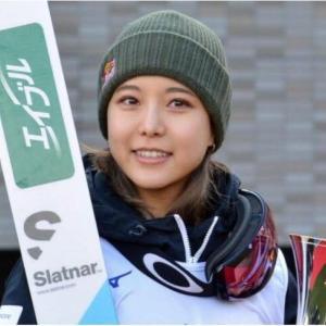 """◆高梨沙羅""""3度目の正直""""で金メダルなるか 五輪シーズンに向け、視界は良好"""