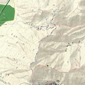 最後の紅葉を観に伽藍岳〜内山 山歩