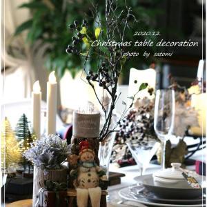 2020.クリスマスのテーブル
