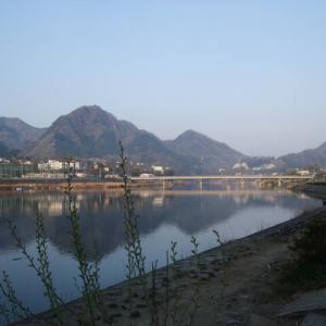 山紫水明の島田湖 小品 22