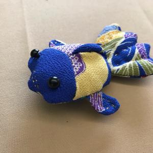 縮緬細工   金魚