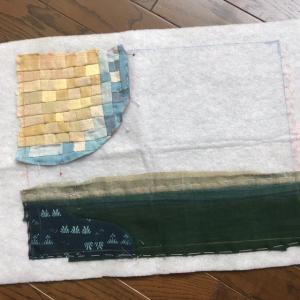 綿の古布で  2