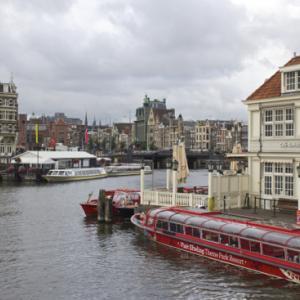 世界遺産の「アムステルダムの(中略)運河地域」に行ってきた