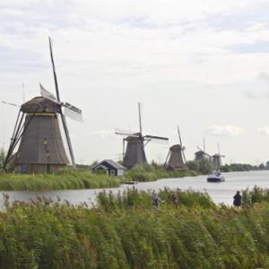 世界遺産の「キンデルダイク=エルスハウトの風車網」に行ってきた