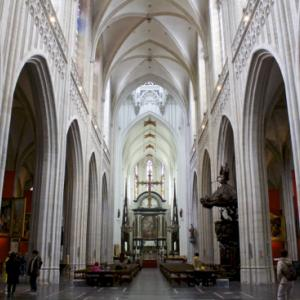 世界遺産の「アントワープの聖母大聖堂」に行ってきた