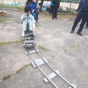 産業技術短期大学 新幹線 N700A製作プロジェクト カーブ走行 Part9