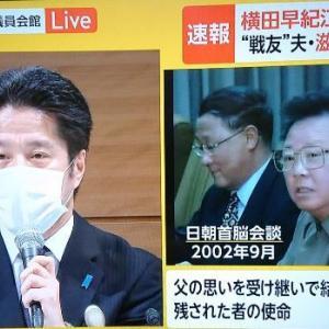 拉致問題「横田めぐみさんの弟の発言」