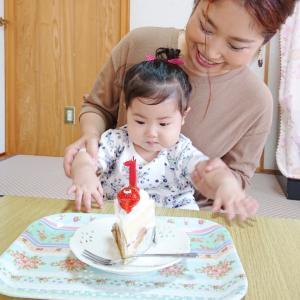 1歳お誕生日おめでとう&ありがとう