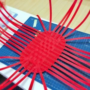楕円底のバッグをきれいに編みたい方へ