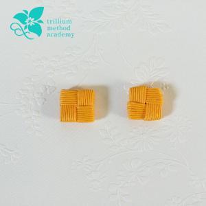 石畳編み(四つだたみ編み)が四角くならない理由
