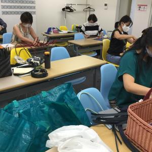 紙バンドクラフトバンド トリリアムメソッド(R)アカデミー 大阪教室
