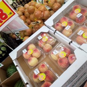 もう桃の季節?(*^^*)