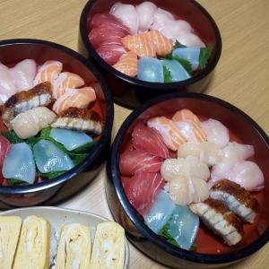 おうちごはん~( ≧∀≦)ノ本格的なお寿司