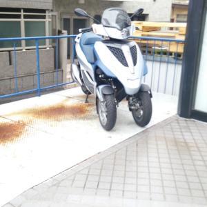 双前輪スクーター?!