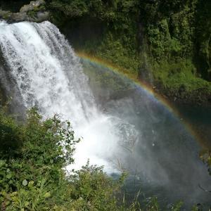 静岡県の白糸の滝と音止の滝