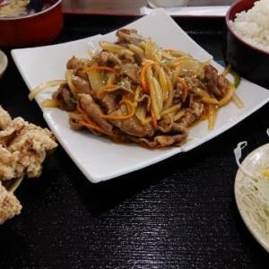 台湾料理 弘詳「生姜焼肉定食」