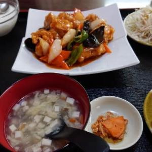 台湾料理 弘詳「酢豚定食」