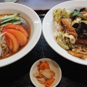 台湾料理 弘祥「台湾冷麺+回鍋飯」