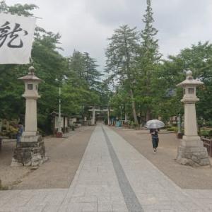 上杉神社参拝