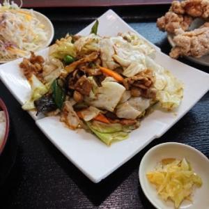 台湾料理 弘祥「回鍋肉定食」
