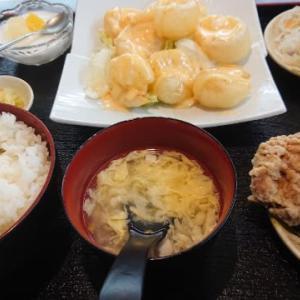台湾料理 弘祥「エビマヨ定食」