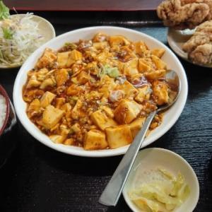 台湾料理 弘祥「麻婆豆腐定食」