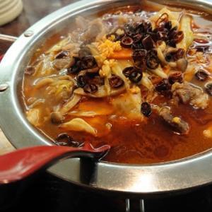 台湾料理 弘祥「麻辣牛肉鍋」