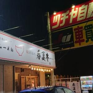 鶏SOBA春夏冬「特製鶏塩らーめん+半チャーハン」(成田市)