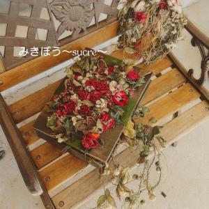 ★布花のクリスマスBOX‥布花 兵庫県神戸★