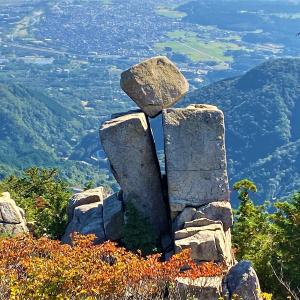 鈴鹿山脈 一番人気 御在所岳にノボル!!