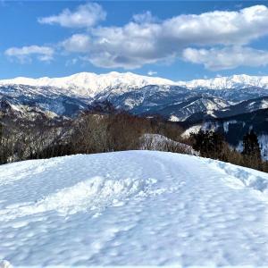 白山眺めに…雪山W登山!取立山&白峰西山~後編~