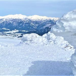 福井で人気の雪山~銀杏峰も?長靴登山・・・笑